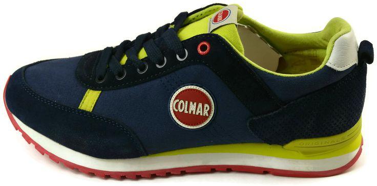 Scarpe Colmar Originals TRAVIS COLORS112 NAVY-LIME