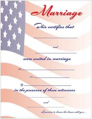 78 best Keepsake Marriage Wedding Certificates images on Pinterest - sample marriage certificate