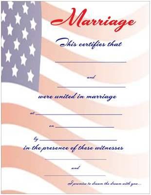 Best Keepsake Marriage Wedding Certificates Images On