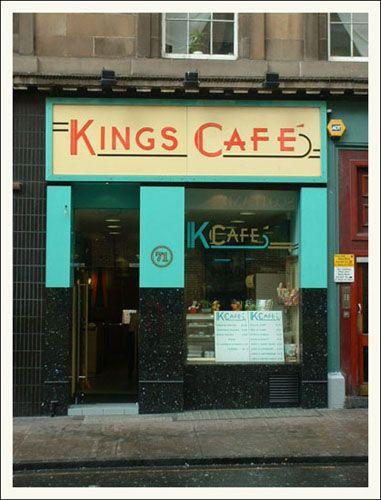 The Kings Cafe  Elmbank St, Glasgow,