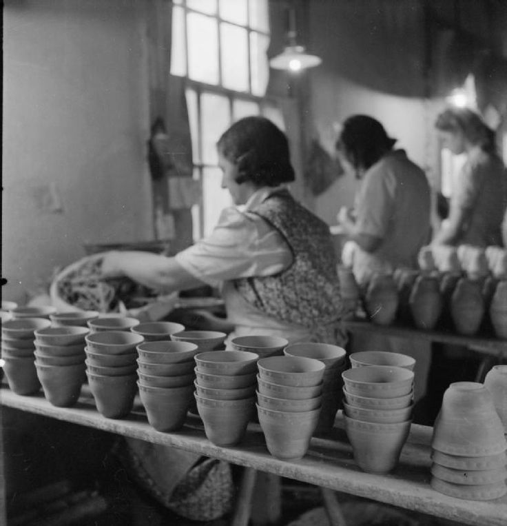 Meakin Pottery, Hanley, Stoke-On Trent, Staffordshire., England