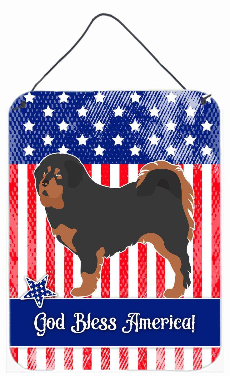 Tibetan Mastiff American Wall or Door Hanging Prints BB8407DS1216