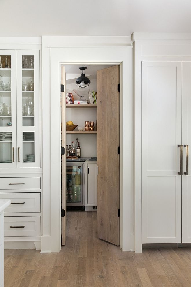 Pantry Kitchen Pantry The Pantry Features Custom Vertical Cabinetry And A White Oak Door Pantry Kit Kitchen Pantry Doors Kitchen Pantry Kitchen Pantry Cabinets