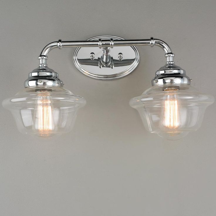 20 best Retro style bath lights: Schoolhouse, Restoration, Craftsman ...