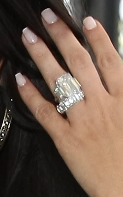 Celebrity engagement ring costs