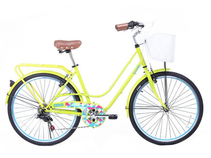City Mujer/Limon para las que quieren alegrar las calles. Disponible en gamabikes.com #NuevaTemporadaGama