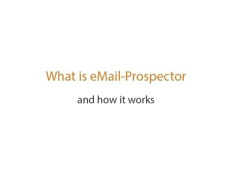 264) Email Prospector - Find Anyone's Business Email Address