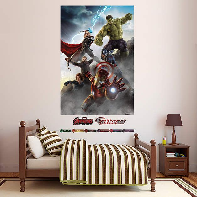 Fathead Avengers Age Of Ultron Wall Mural   Wall Sticker Outlet Part 56