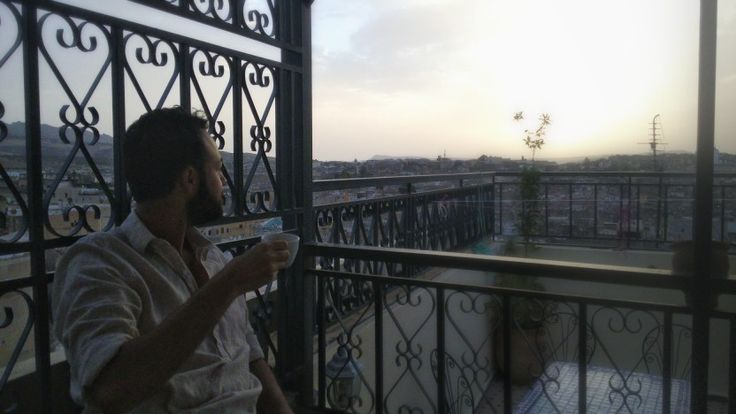 Fes on the sunset