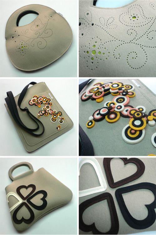 Bolsos de Mariela Dias. ¡¡¡Son preciosos!!!!