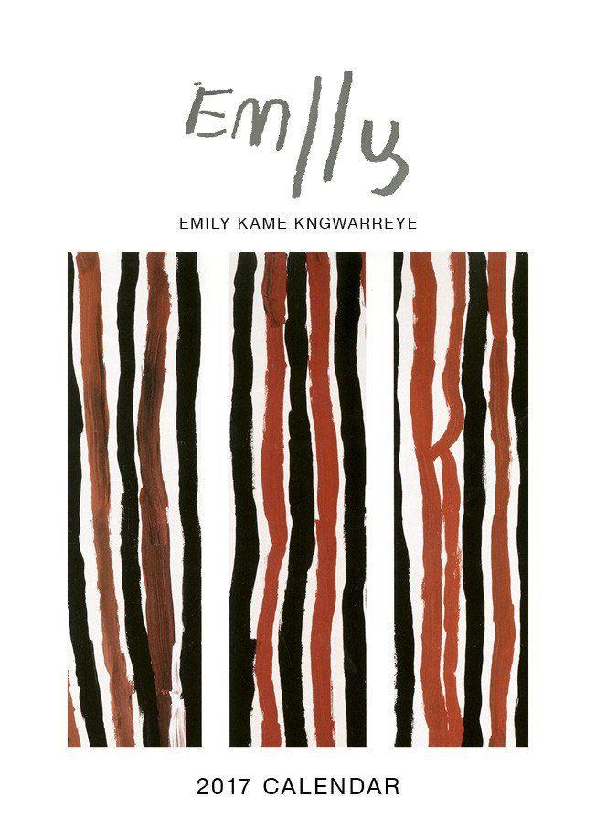 Emily Kame Kngwarreye Calendar 2017