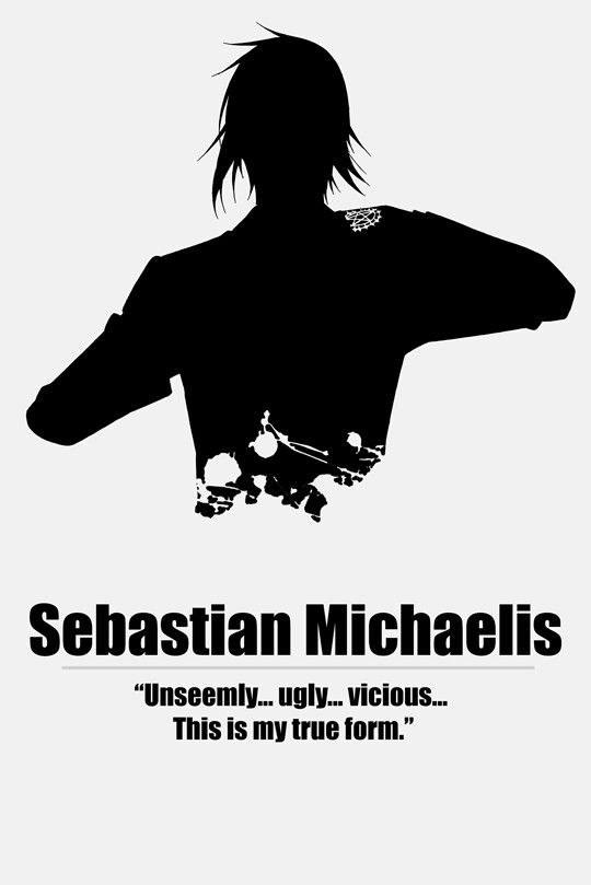Kuroshitsuji, Sebastian Michaelis ( セ バ ス チ ャ ン ・ ミ カ エ リ ス ) by http://toxzen.tumblr.com/
