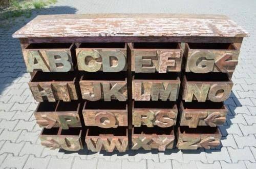 Oryginalne i praktyczne: #komody z abecadłem. :) ✪ 1: http://bit.ly/1IJJOWx ✪ 2: http://bit.ly/1IJJOWx