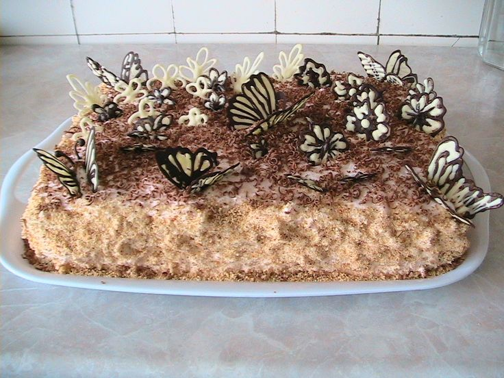 Украшение на торты из шоколада фото