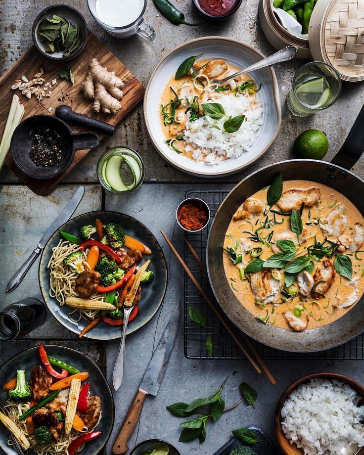 Koriander, lime, ingefära eller kanske cashewnötter? Vilken är din favorit i det asiatiska köket? #santamariasverige #asiatiskmat #thaimat