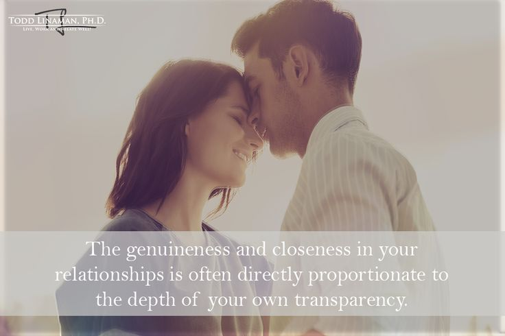 Depth of your own transparency.