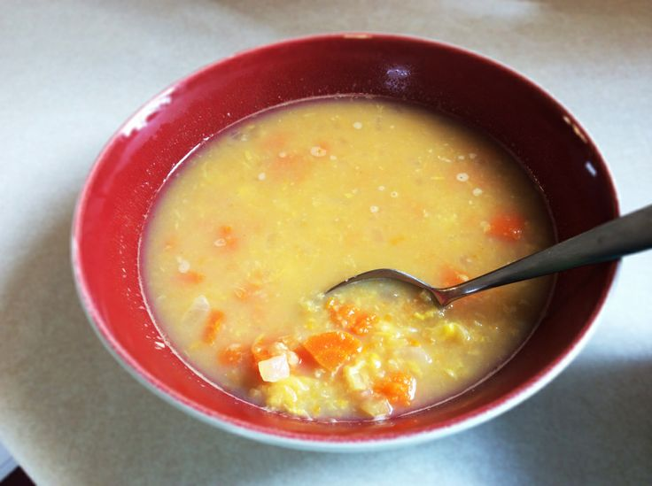 Corn and carrot chowder