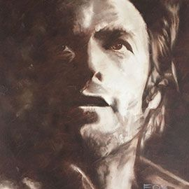 Clint I - Oil Painting by Jenny Fox McKay