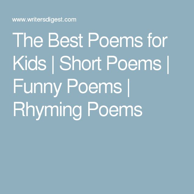 Best Short Quotes Funny: The 25+ Best Funny Poems For Kids Ideas On Pinterest