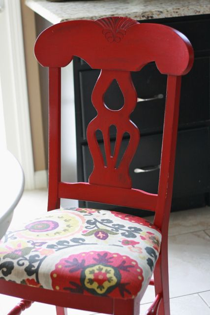 Napoleon kitchen chairs + table re-do | A Simple Haven
