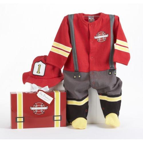 Baby Firefighter Bodysuit Gift Set