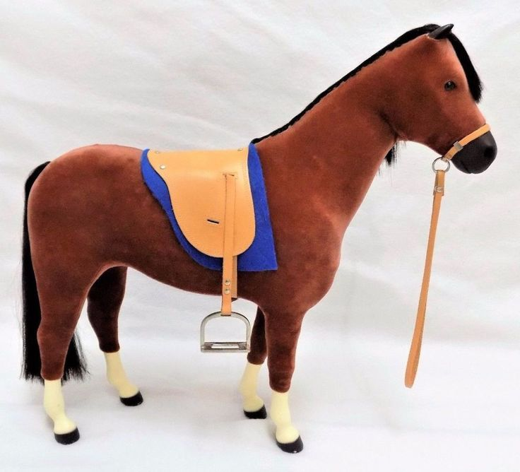 #AmericanGirl #PetsAnimals American Girl 100% genuine and authentic Pleasant Co. Company Penny soft velvety medium brown #horse #collectible #toy for #Felicity #doll with solid black nose, hair, mane, tail, hooves, eyes and ears and complete with royal blue blanket, beige/tan leather saddle and shiny silver tone metal stirrups, excellent used condition http://www.ebay.com/itm/AMERICAN-GIRL-GENUINE-AUTHENTIC-PLEASANT-COMPANY-PENNY-HORSE-FELICITY-DOLL-/112398688996?hash=item1a2b7be2e4