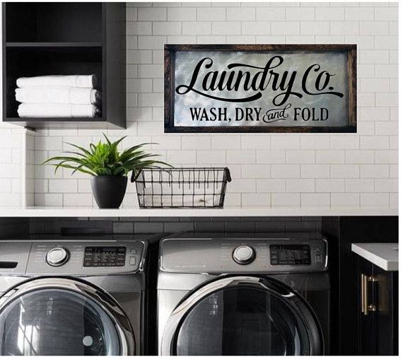 Laundry Room Sign, Laundry Sign, Laundry Room Decor