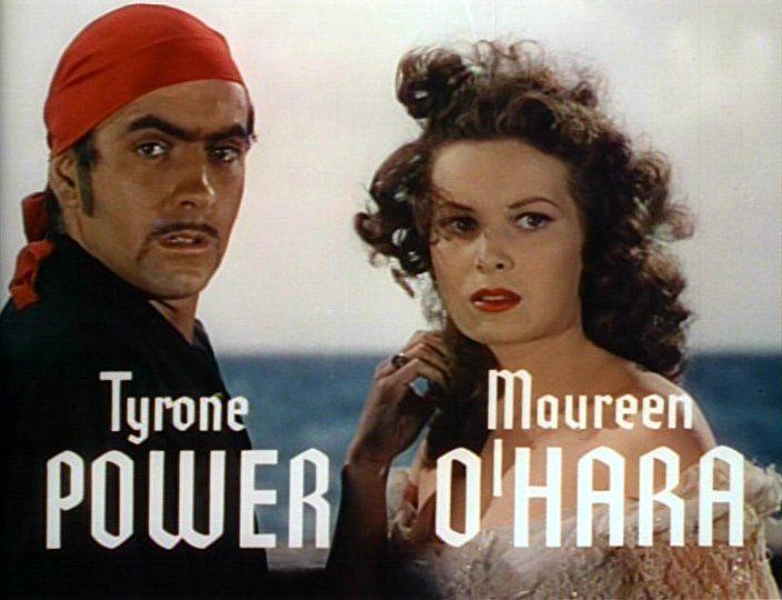 Maureen O'Hara and Charles Blair   Tyrone_Power_Maureen_O'Hara_Black_Swan_8.jpg