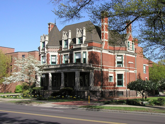 this home is now part of the campus of Wilkes University in Wilkes-Barre, Pennsylvania