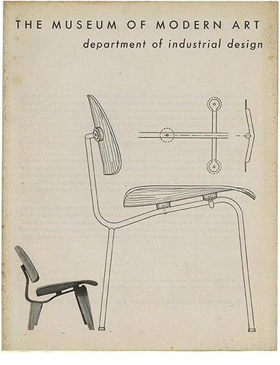 What Is Modern Industrial Design? Museum Of Modern Art Bulletin, Vol XIV  No. Wooden FurnitureFurniture DesignCharles EamesLiving ...