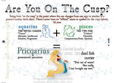 "Finally a word for my star sign ! ""Pricqarius"""