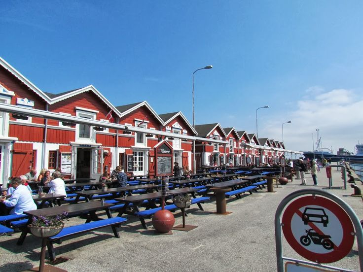 Skagen Harbour, Denmark, if you want to eat fish, you are at the right place here :-)