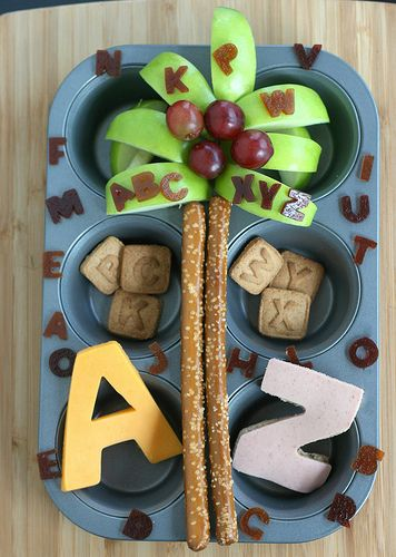 Afterschool ABC snack