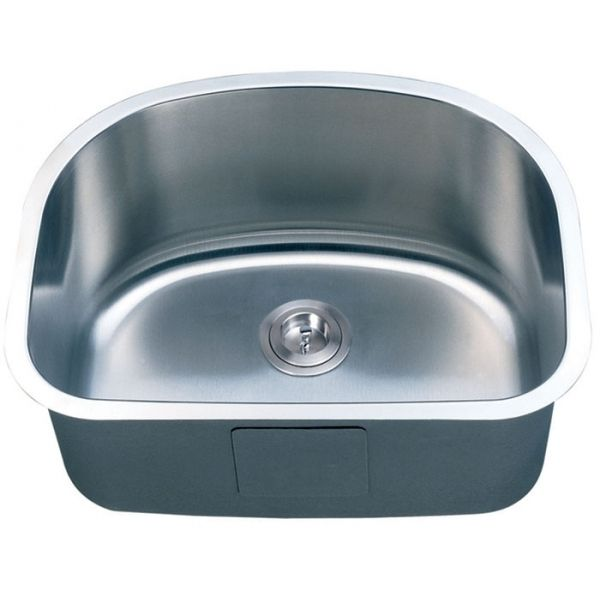 """Stainless Steel Single bowl Undermount Sinks Description SINGLE BOWL SINK Material 304 STAINLESS STEEL Color STAINLESS STEEL Mounting Options UNDER-MOUNT Finish BOWLS BRUSHED AND SURFACE POLISHED Thickness 16 GAUGE Sound Proong SPRAY AND SOUND PAD SYSTEM Warranty LIMITED LIFETIME Overow NO Drain Size 3 5/8'' STANDARD USA, CA AND EUROPE SIZE Fits Cabinet Size MADE FOR CABINETS 23-3/4"""" AND LARGER Order Includes PAPER TEMPLATE & MOUNTING HARDWARE"""