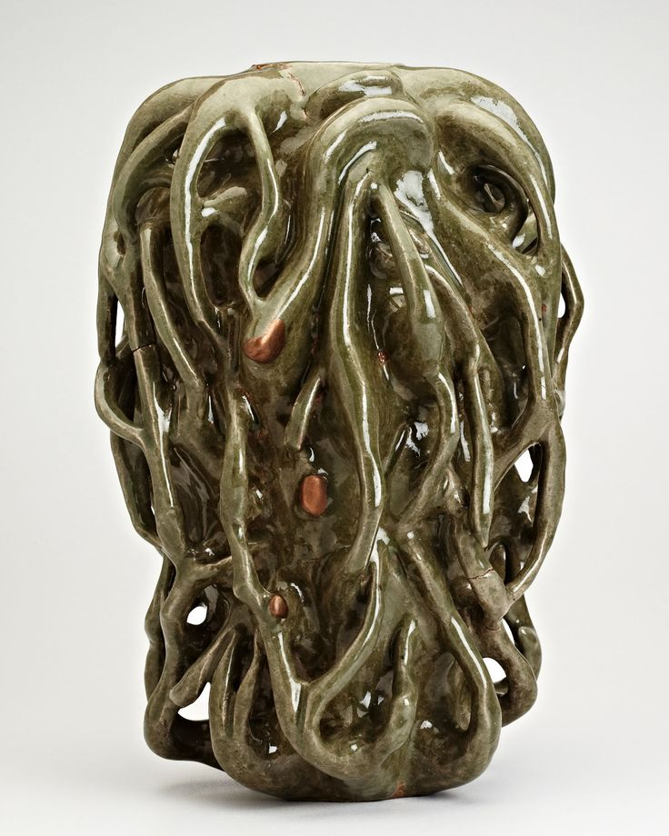 Axel Salto - Sprouting Masterpiece, stoneware sculpture.  More important modern art for sale on the CuratorsEye.com