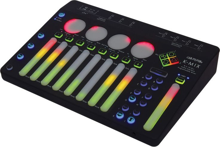 innovative hardware and software developerKeith McMillen Instrumentsis proud to announce availability ofK-MIX— a Mac OS X-compatible next-generation audio interface and programmable mixer for s…