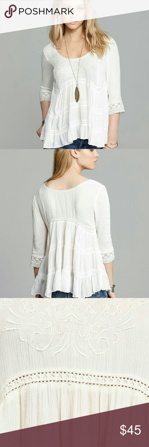 USE THE OFFER BUTTON! Rare Free people tunic Free people Pandora tunic Free people  Tops