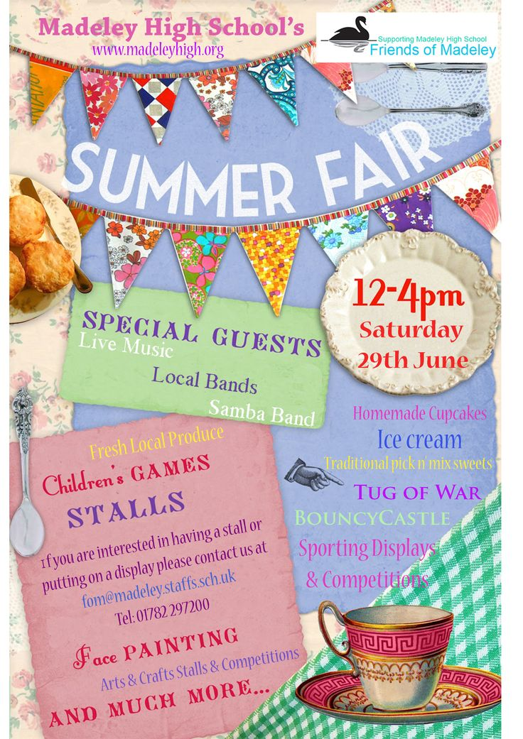 Summer Fair - Madeley High School