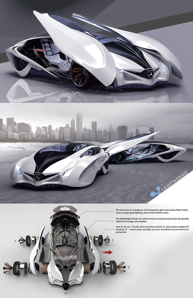 O=o ♂ Dolphin concept car is the third winner of Michelin design challenge 2013, it reflects the principle of sporty, scientific and futuristic. The body structure is constructed from full transparent glass and carbon fiber, light weight design to ensure security as well as reduce the energy consumption. a concept car that boasts smart technology with lightweight body, effectively reduce any energy consumption for better environment.