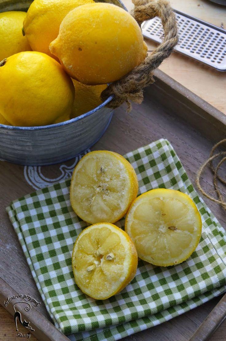Kulinarne przygody Gatity: Mrożona cytryna, z czym to się je ?