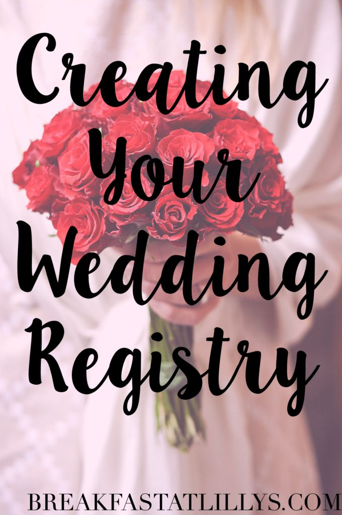 Today on Breakfast at Lilly's I am sharing some tips and tricks on creating your wedding registry.