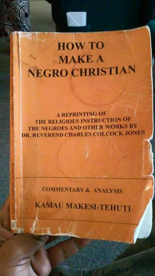Very interesting. The Bible is our truth however.. in the hands of the oppressor it was a weapon against those who fell into idol worship.