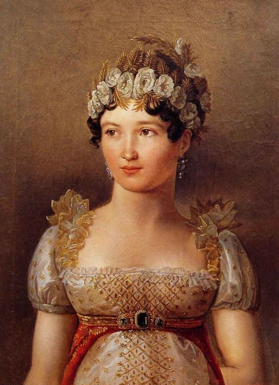 Caroline Bonaparte Murat. Younger Sister of Napoleon who plotted backstairs revenge on Josephine Bonaparte whom she hated.