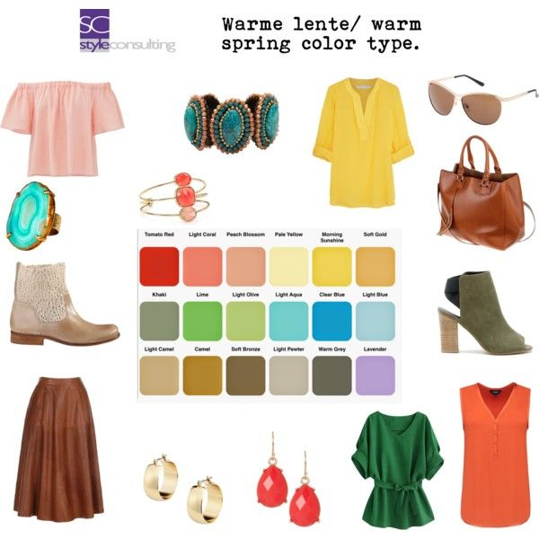 Warme lentetype/ warm spring color type. by roorda on Polyvore featuring mode, Diane Von Furstenberg, Rebecca Taylor, Sole Society, Pannee, Mela Artisans, Natasha Accessories and Kate Spade