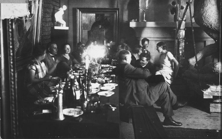 Illanviettoa Wäinö Aaltosen ateljeessa 1920–1929