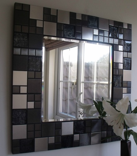 Mosaic mirror - DIY?