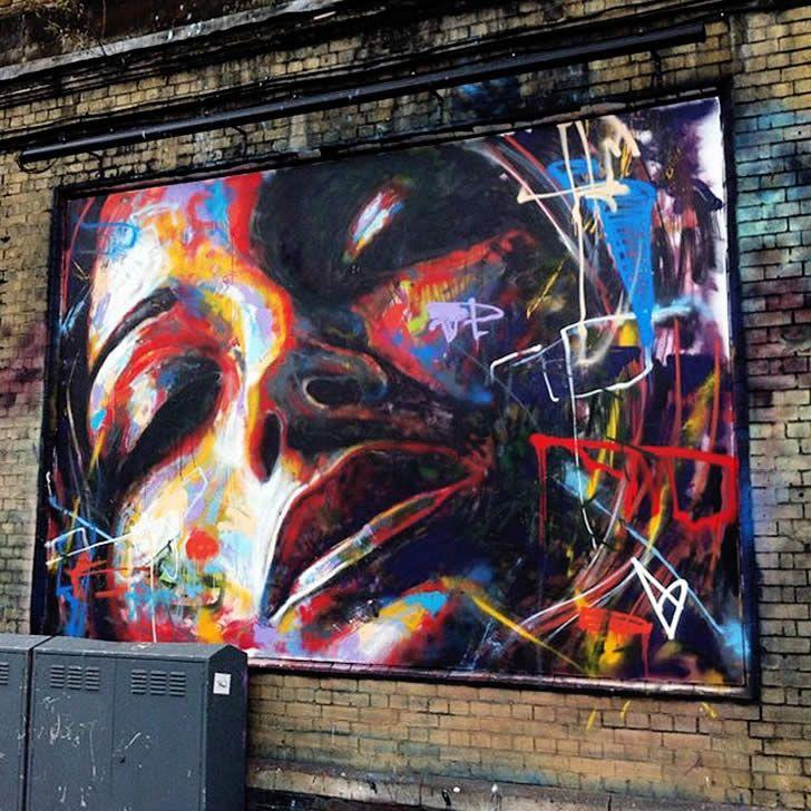 Street art by David Walker (2)
