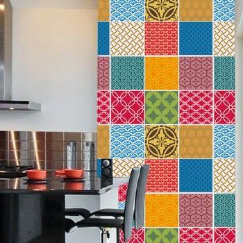 25 melhores ideias sobre azulejo decorativo no pinterest ideias de azulejos telhas para - Azulejos colorines ...
