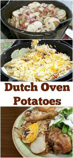 Dutch Oven Potatoes Recipe, Camp Cooking Favourite