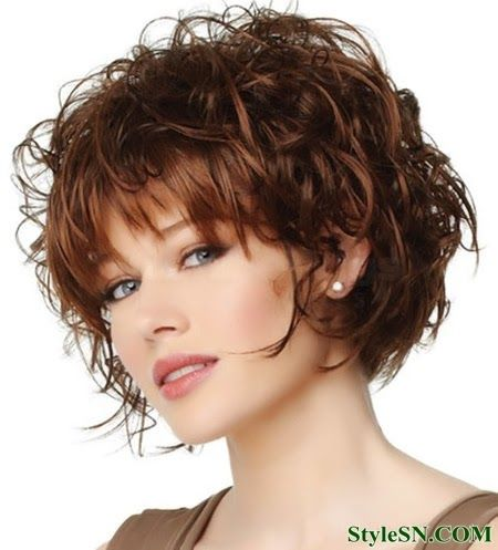 img2ec81001a113b189e61b28fb88f2dc72 Best Curly Short Haircuts hairstyles for women